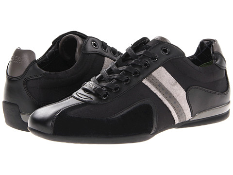 BOSS Green - Space Up (Black) Men's Lace up casual Shoes