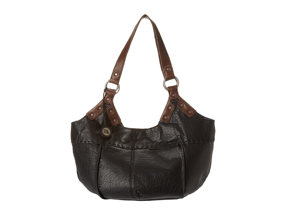 The Sak - Indio Satchel (Black Rider) Shoulder Handbags