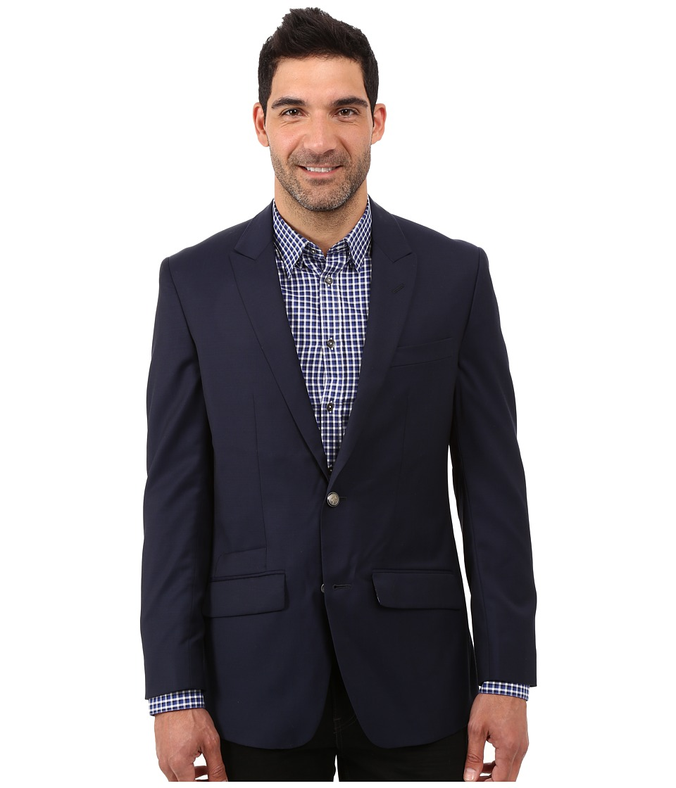 Robert Graham - Cicero Basic Wool Sportcoat (Navy) Men's Coat
