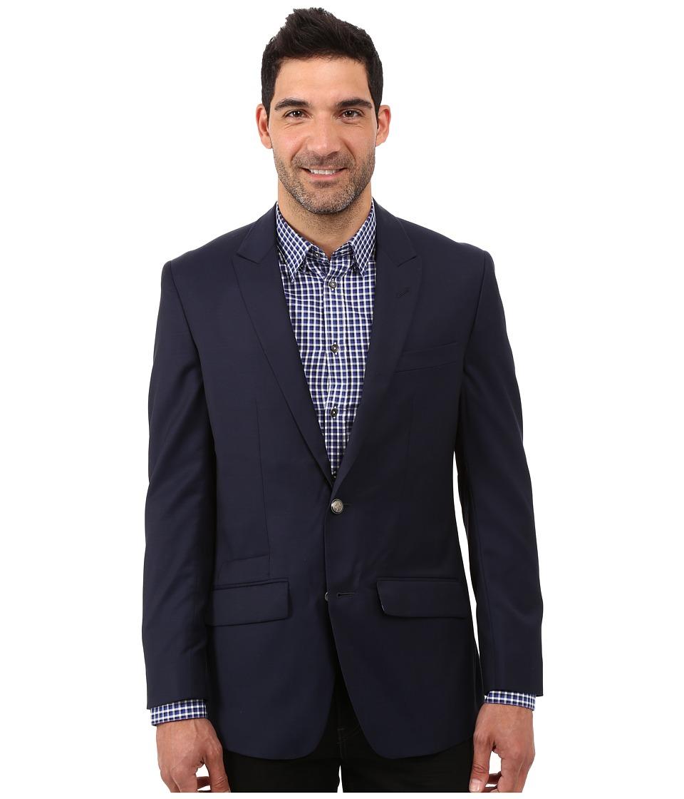 Robert Graham - Cicero Basic Wool Sportcoat (Navy) Men's Coat