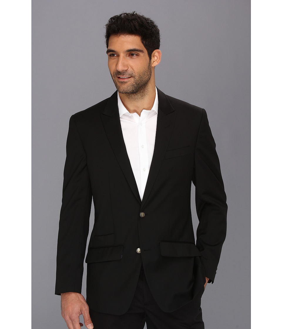 Robert Graham - Cicero Basic Wool Sportcoat (Black) Men's Coat