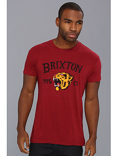 SALE! $14.99 - Save $13 on Brixton Harlow S S T Shirt (Burgundy) Apparel - 46.46% OFF $28.00