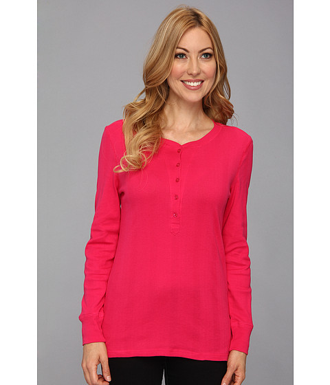 Pendleton - Pretty Pointelle Pullover (Cherry Pink) Women's Long Sleeve Pullover