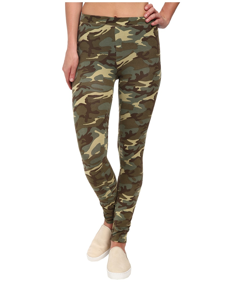 Alternative - Printed Skinny Legging (Camo) Women's Casual Pants