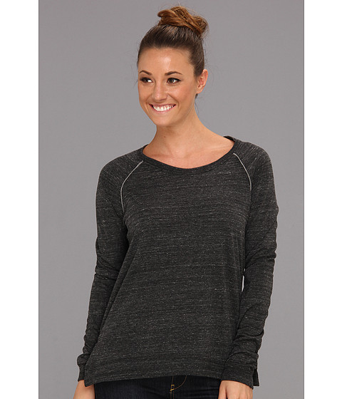 Alternative - Locker Room Pullover (Eco Black/Eco Grey) Women's Long Sleeve Pullover