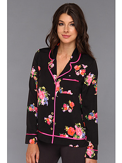 SALE! $36.99 - Save $31 on Juicy Couture Jazzy Floral PJ Top (P. Black Jazzy Floral) Apparel - 45.60% OFF $68.00