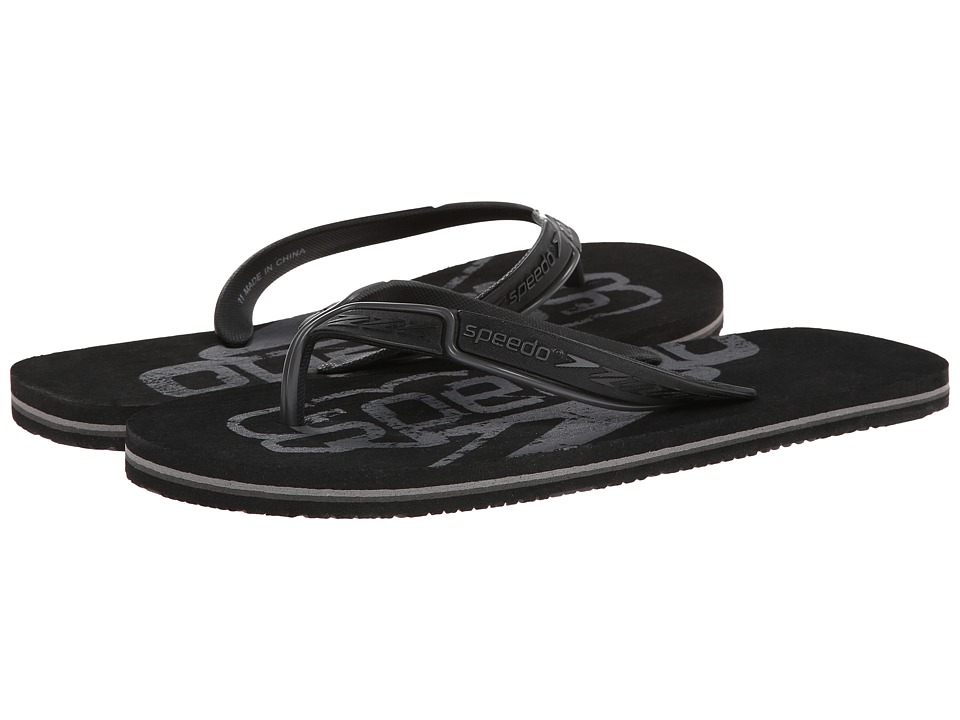 Speedo - Wavelength (Black/Black) Men's Sandals