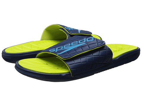 Speedo - Exsqueeze Me Rip Slide (Insignia Blue/Sulphur Spring) Men