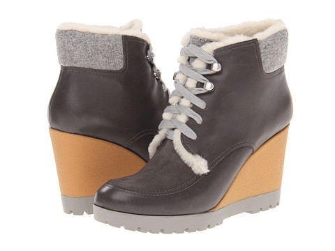 Cole Haan - Henson Bootie WP (Dark Gull Gray) Women's Dress Lace-up Boots
