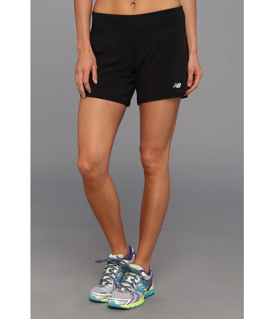 New Balance - Impact 2-In-1 Short (Black) Women's Workout