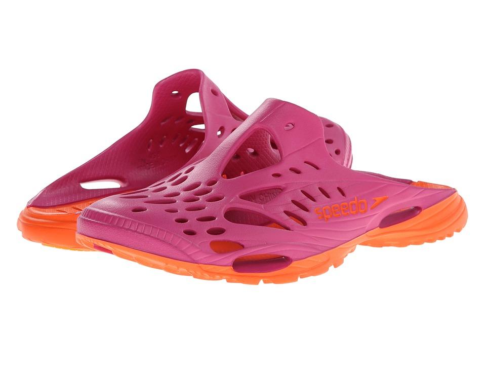 Speedo - Blaze Clog (Fuschia/Flame) Women's Shoes