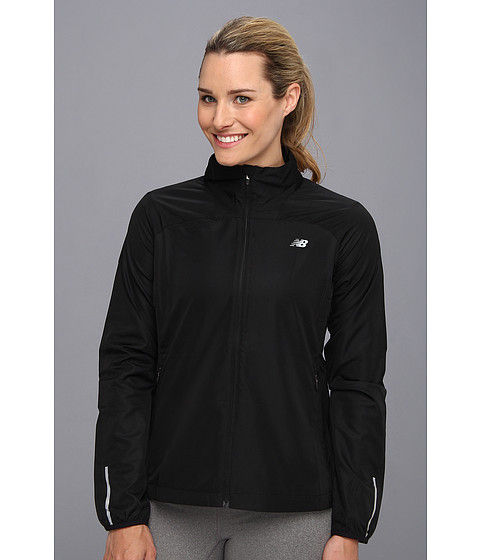 New Balance - Sequence Jacket (Black) Women's Jacket