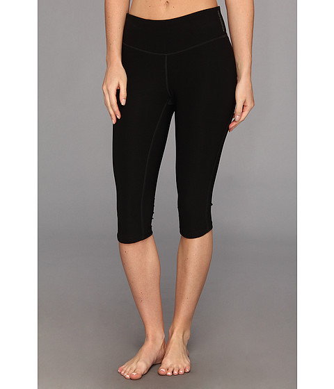 New Balance - Ultimate Knee Capri (Black) Women's Capri