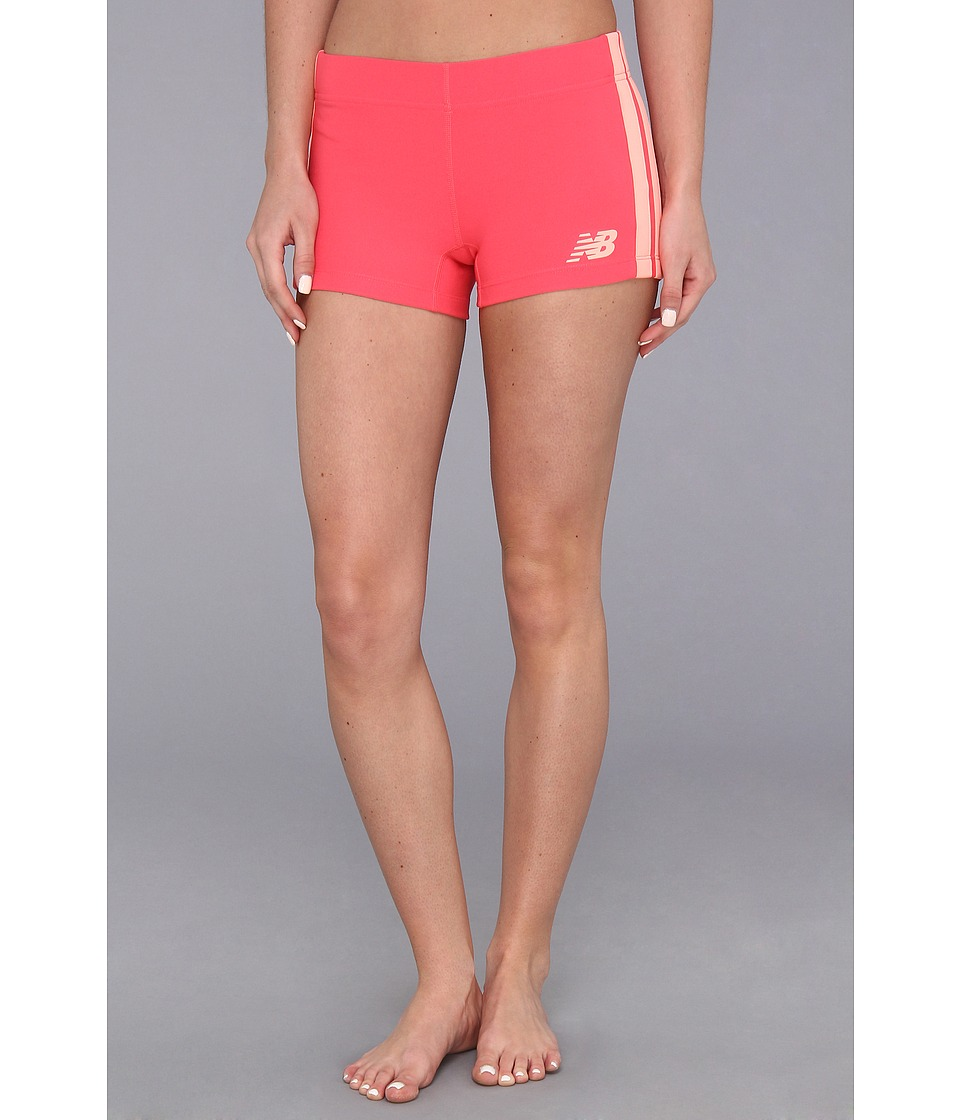 New Balance - Baseline Hot Short (Watermelon) Women's Workout