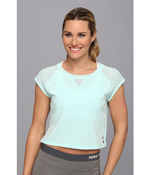 New Balance - Heidi Klum for New Balance Crop Tee (WMI) Women's Workout