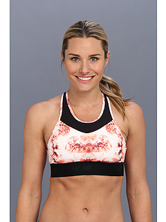 SALE! $36.99 - Save $13 on New Balance HKNB Hottie Bra (Cosmic Coral Print) Apparel - 26.02% OFF $50.00