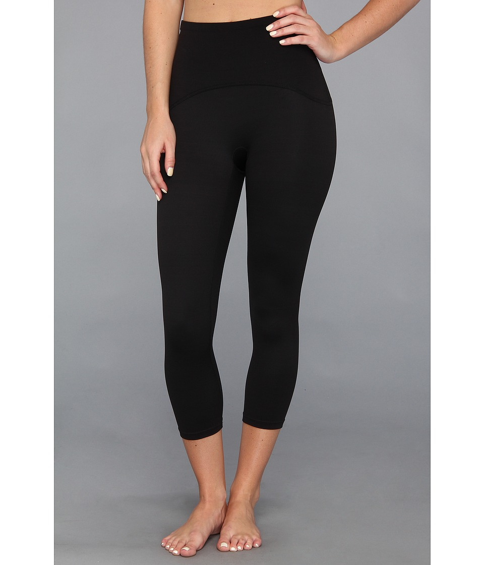 Spanx Active Shaping Compression Crop (Black) Women
