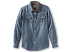 Joe's Jeans Kids Boys' Chambray Shirt w/ Corduroy Detail