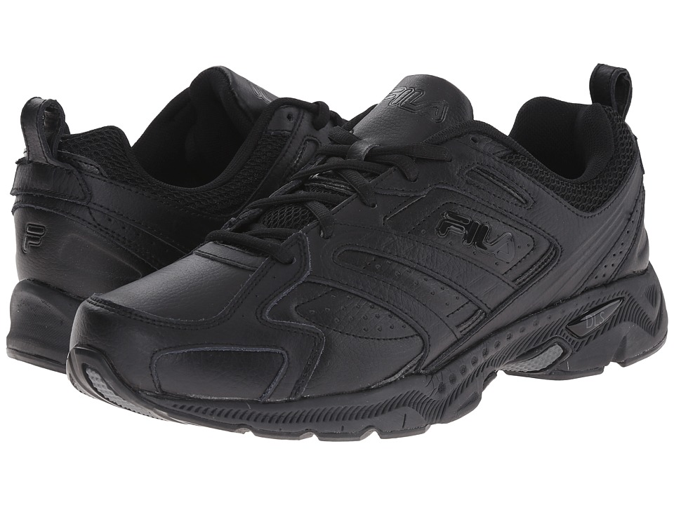 Fila - Capture (Black/Black/Black) Men's Shoes