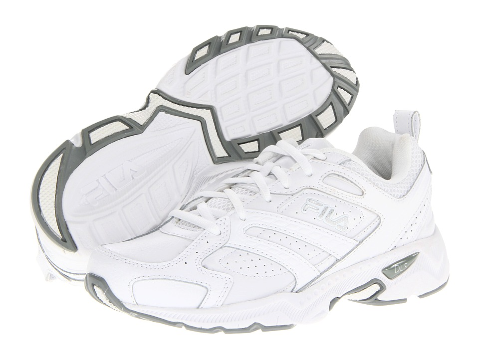 Fila Capture (White/White/Metallic Silver) Women