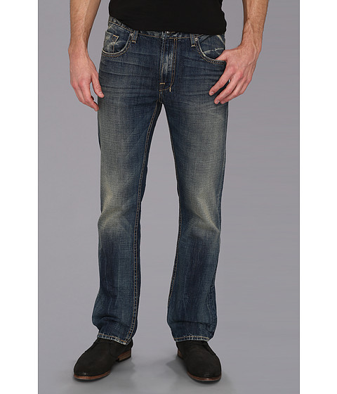 Buffalo David Bitton - Six Slim Straight Bullet Denim in Vintage And Worn (Vintage And Worn) Men's Jeans