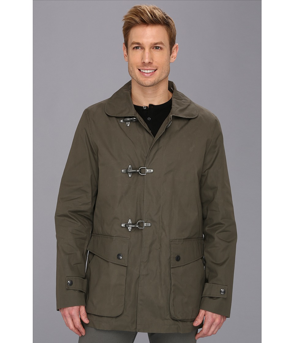 Vince Camuto - Technical Cotton Car Coat (Fatigue) Men's Coat