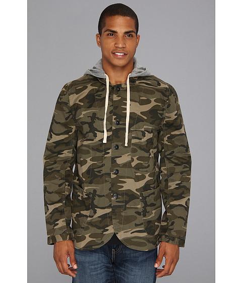 Alternative - Printed Bridgeport Jacket (Camo Twill) Men