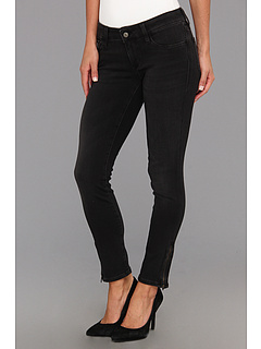 SALE! $36.99 - Save $81 on Mavi Jeans Serenity Low Rise Super Skinny Crop w Zips (Charcoal) Apparel - 68.65% OFF $118.00