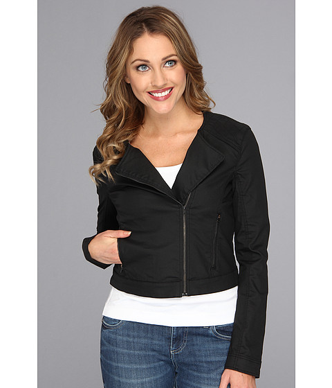 Mavi Jeans - Ruby Moto Jacket (Black Coated) Women