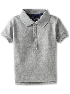 SALE! $14.99 - Save $21 on Toobydoo Bond Street Polo (Infant Toddler Little Kids Big Kids) (Heather Grey) Apparel - 58.36% OFF $36.00