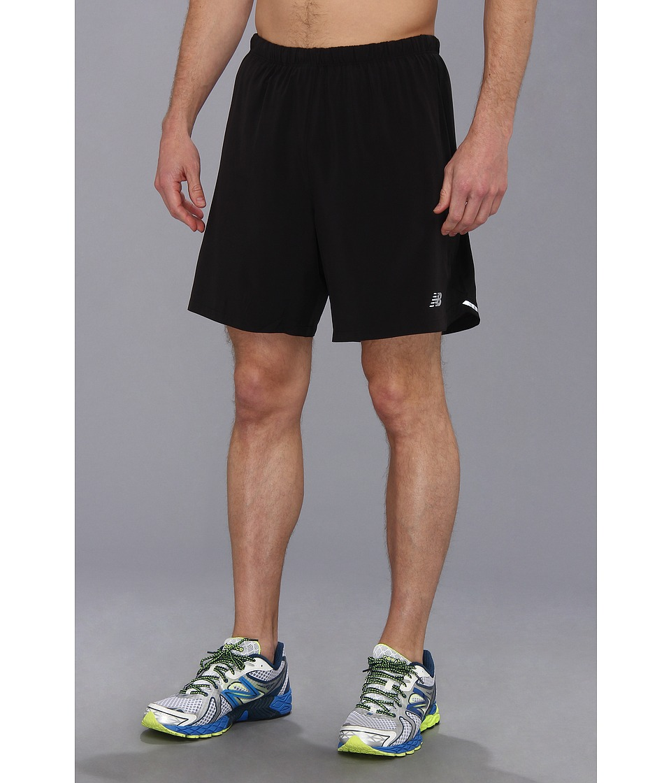 New Balance - Impact 2-In-1 Run Short (Black) Men's Shorts
