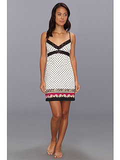SALE! $26.99 - Save $33 on P.J. Salvage Pop of Pink Polka Dot Chemise (Ivory) Apparel - 55.02% OFF $60.00