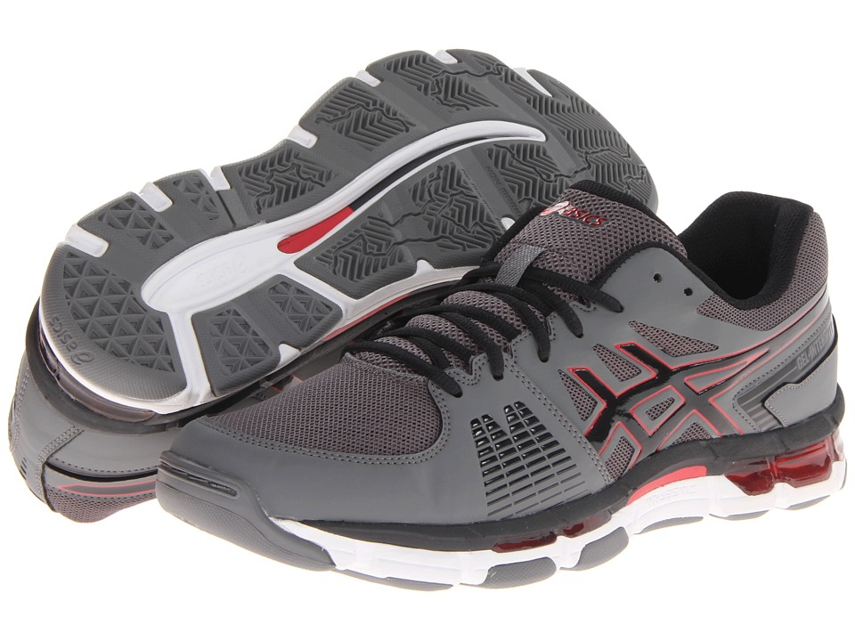 ASICS - Gel-Intensity 3 (Titanium/Onyx/Red) Men's Cross Training Shoes