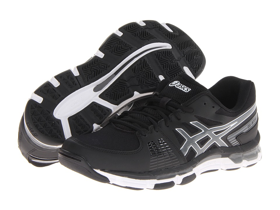 ASICS - Gel-Intensity 3 (Black/Smoke/White) Men's Cross Training Shoes