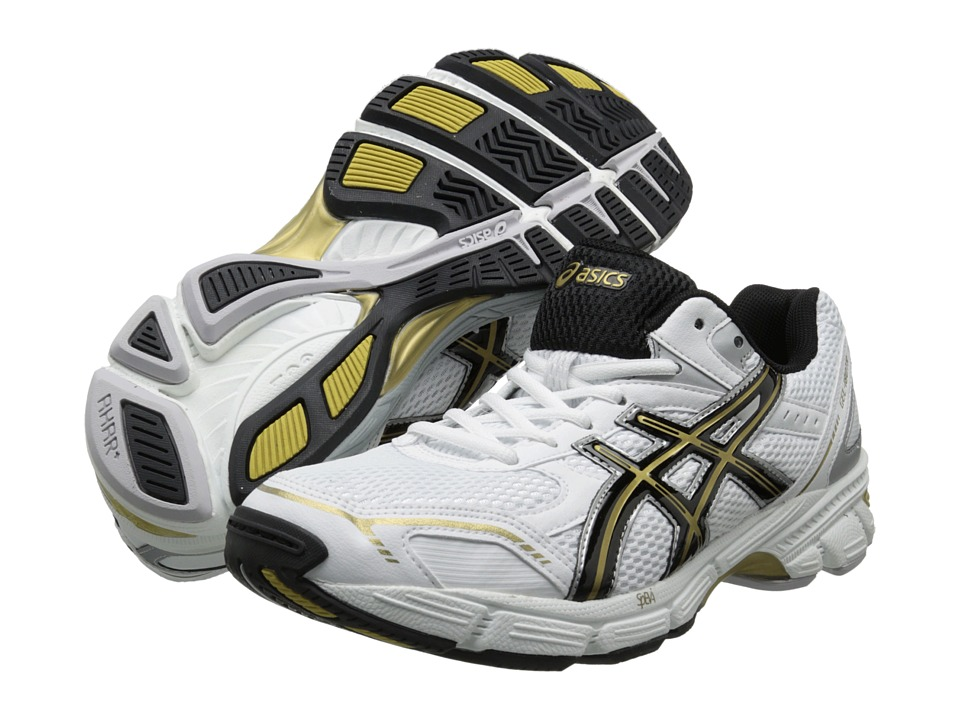 ASICS - Gel-180 TR (White/Black/Gold) Men's Cross Training Shoes