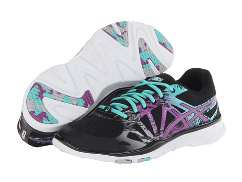 ASICS - Gel-Harmony TR2 (Black/Plum/Aqua) Women's Running Shoes