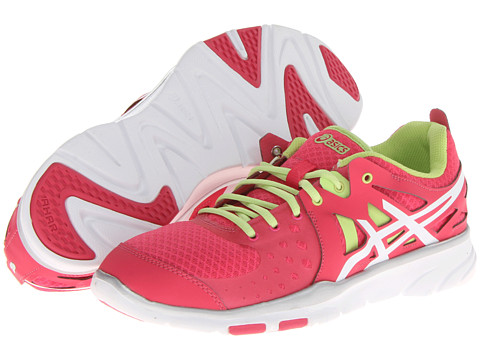 ASICS - GEL-Sustain TR2 (Raspberry/White/Limeade) Women's Cross Training Shoes
