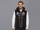 U.S. Polo Assn - Double Quilted Puffer Color Block Vest (Black) - Apparel