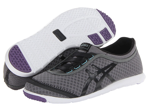 ASICS - Metrowalk (Granite/Black/Grape Mist) Women's Running Shoes