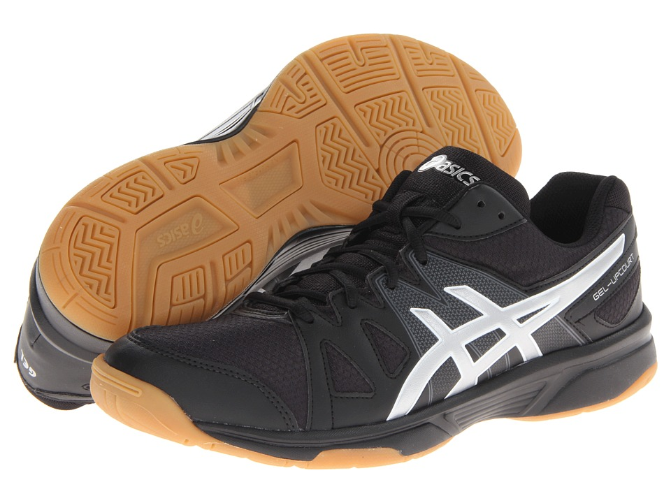 ASICS - Gel-Upcourt (Black/Silver) Men's Shoes