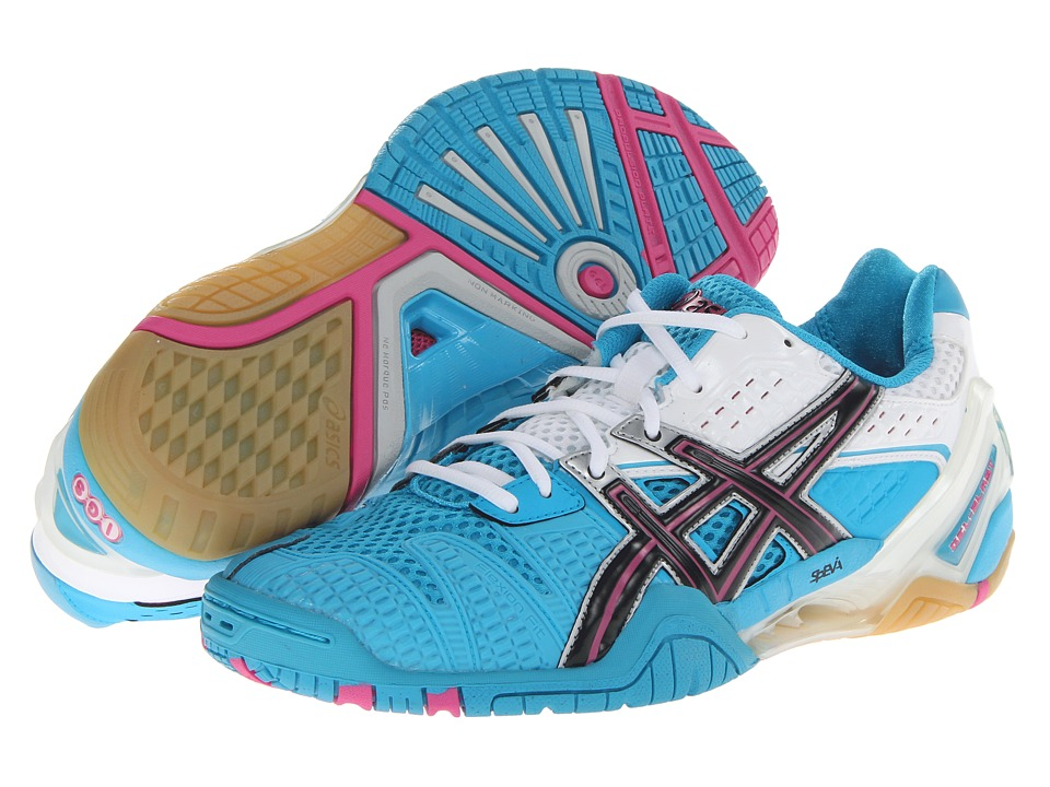 ASICS - Gel-Blast 5 (Ocean Blue/Black/White) Women's Shoes