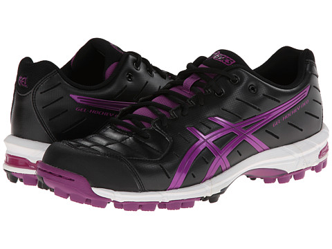 ASICS - Gel-Hockey Neo 3 (Black/Violet/Black) Women's Shoes