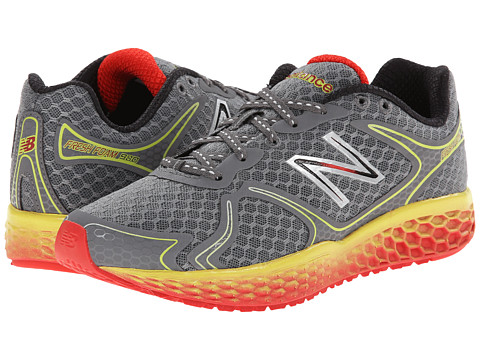 New Balance - Fresh Foam 980 (Dark Heather Grey/Red/Yellow) Men's Shoes