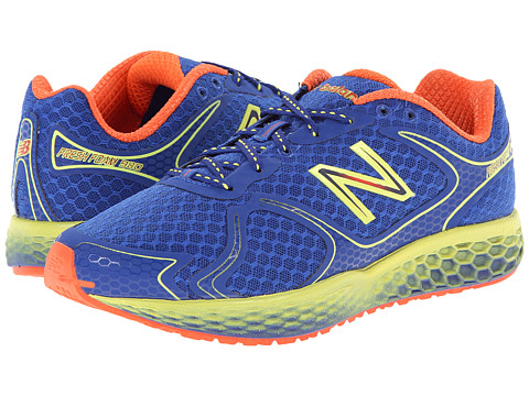 New Balance - Fresh Foam 980 (Blue/Green Gecko/Neon Orange) Men