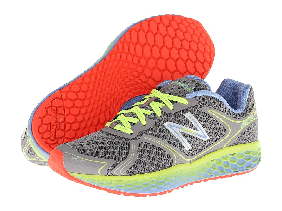 New Balance - Fresh Foam 980 (Dark Heather Grey/Green Gecko/Blue Bell) Women's Shoes
