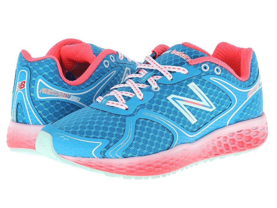 New Balance - Fresh Foam 980 (Blue Aster/Hot Pink/White) Women