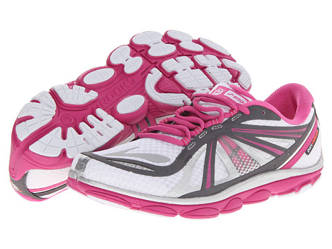 Brooks - PureCadence 3 (White/Fuschia/Anthracite) Women