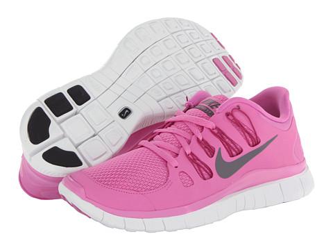 Nike Free 5.0+ (Red Violet/Bright Magenta/Summit White/Iron Ore) Women's Running Shoes