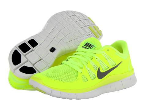 Nike Free 5.0+ (Volt/Summit White/Barely Volt/Medium Base Grey) Women's Running Shoes
