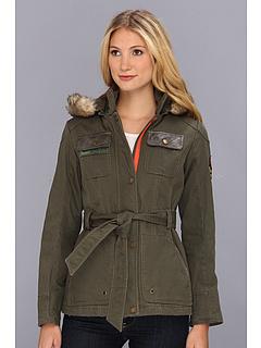 SALE! $74.99 - Save $125 on Buffalo David Bitton Two Tone Coat with Detachable Hood (Khaki) Apparel - 62.51% OFF $200.00